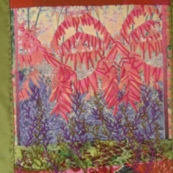 Local Color fiber art workshops with Donna Kallner.