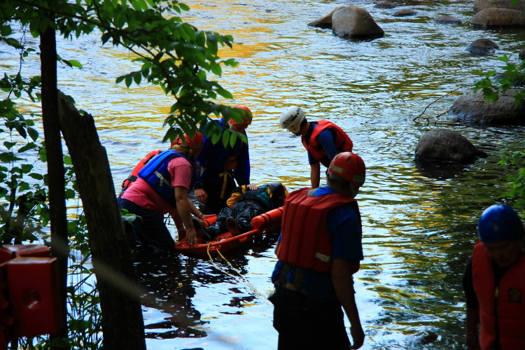 River Rescue training photo by Renae Worden