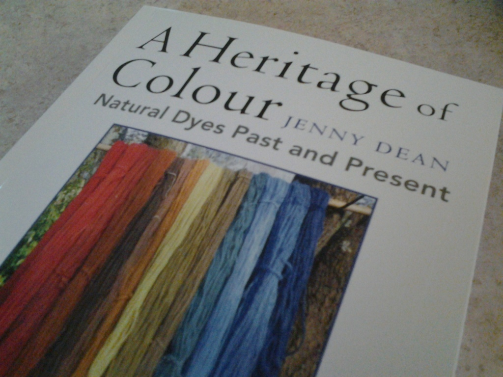 Jenny Dean's book A Heritage Of Colour.