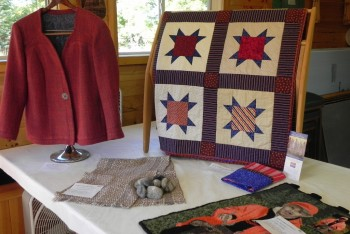 Show & Tell items from The Gathering at Sievers 2014.
