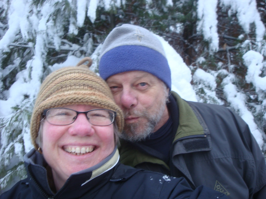 Donna & Bill Kallner celebrate winter in rural northern Wisconsin.