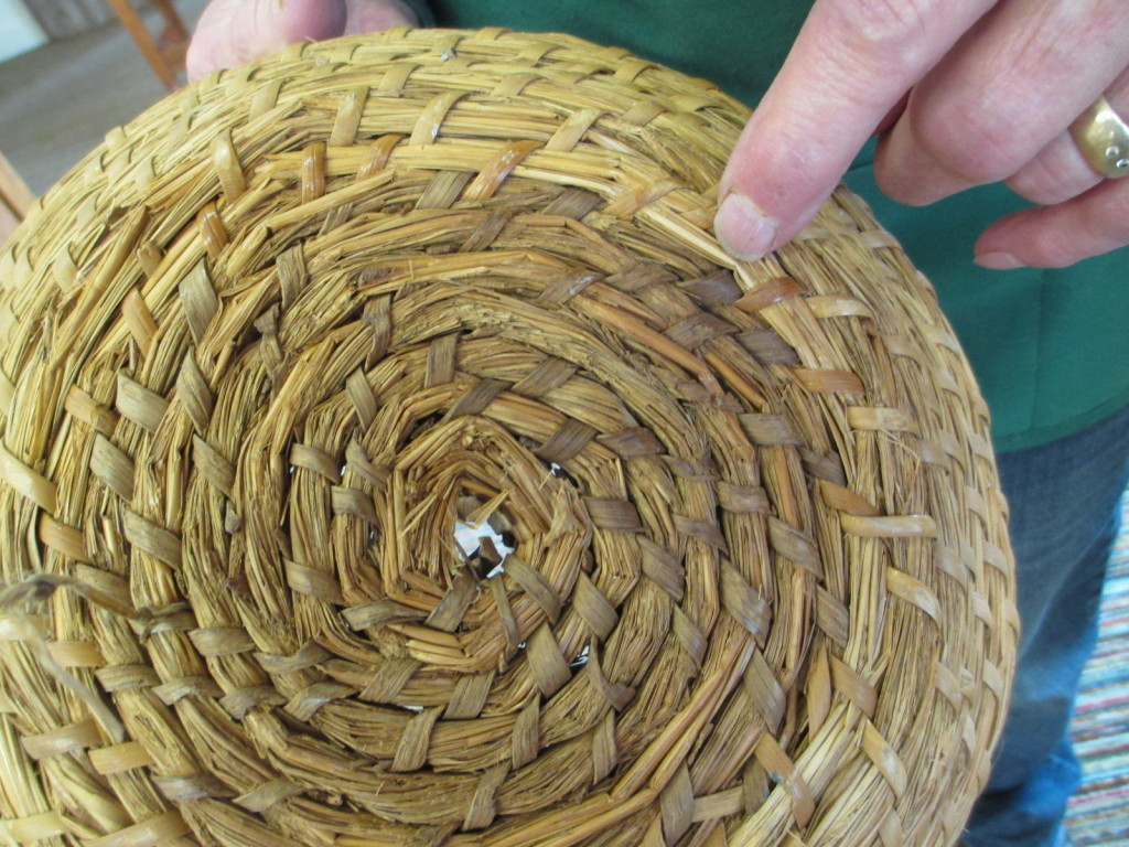 Amana coiled bread rising basket repaired.