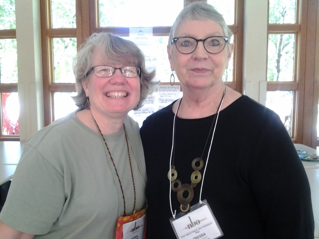 Donna and Tressa Sularz at NBO 2015.