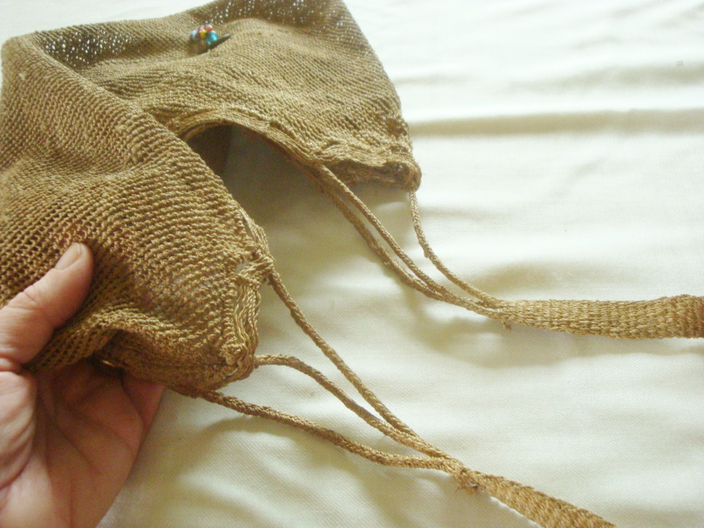 Akha bag strap detail.
