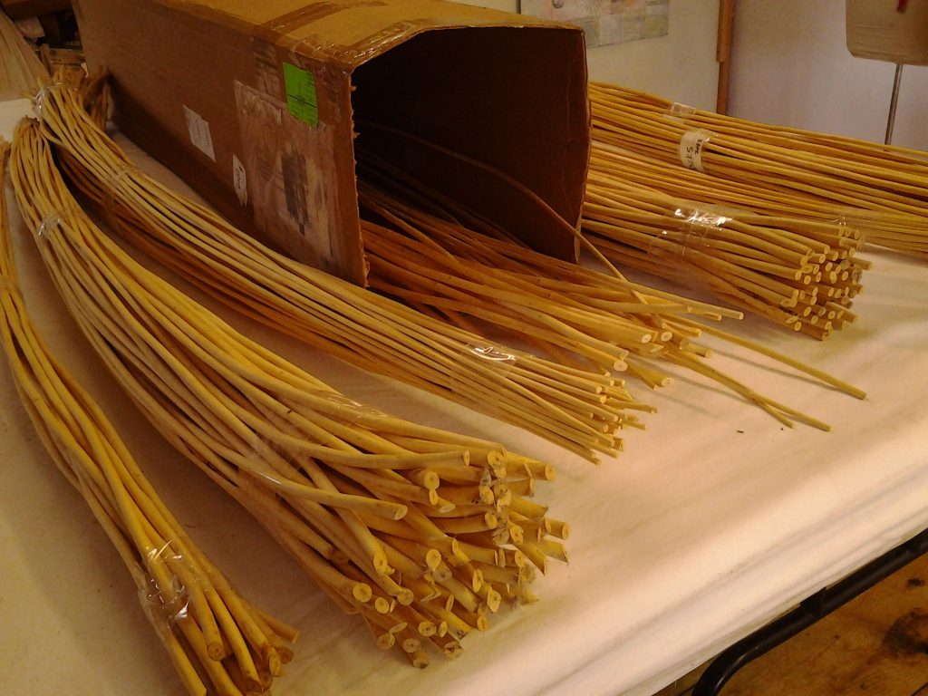 White willow shipment from Dunbar Gardens.
